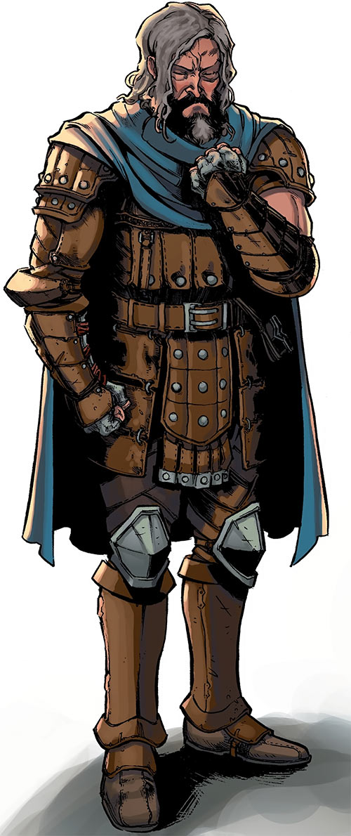 Ser Aaron Hawthorne (Dragon Age: Knight Errant comic)