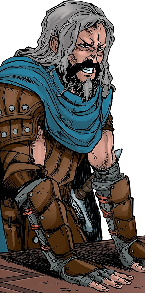 Ser Aaron Hawthorne (Dragon Age: Knight Errant comic) arguing