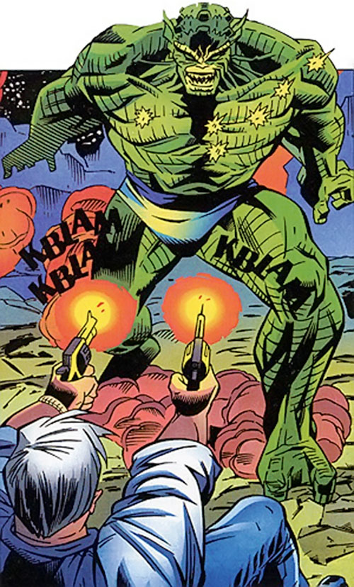 Abomination (Marvel Comics) vs. General Ross