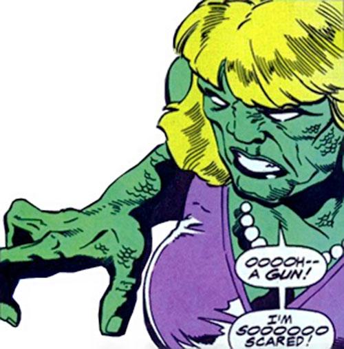 Abominatrix (Marvel Comics) face closeup