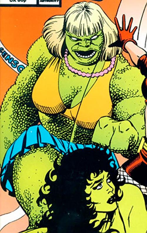 Abominatrix (Marvel Comics) vs. She-Hulk