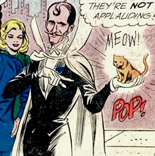 Abra Kadabra (Flash enemy) (DC Comics) vintage art