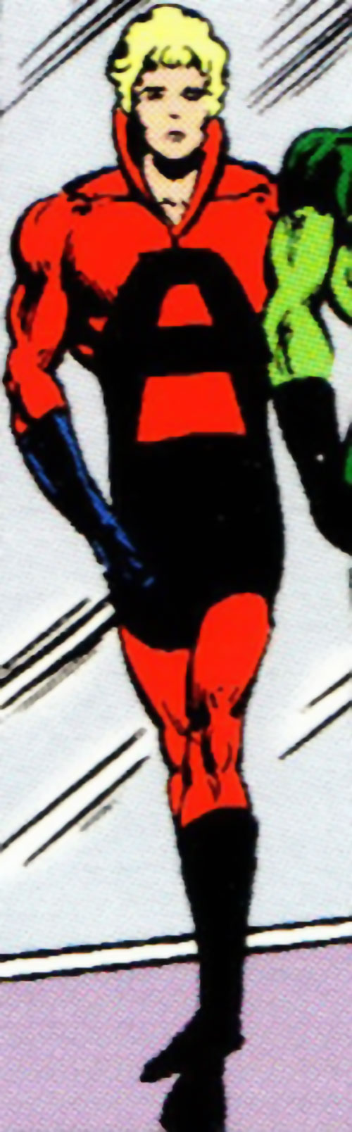Absorbancy Boy (Legion of Super-Heroes character) (DC Comics) in the red and black costume