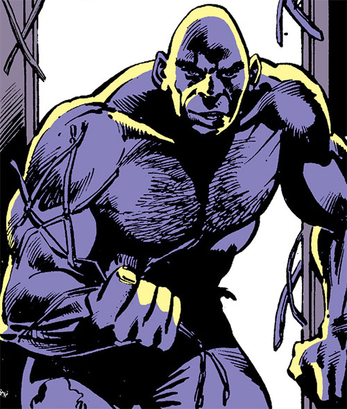 The Absorbing Man in steel form