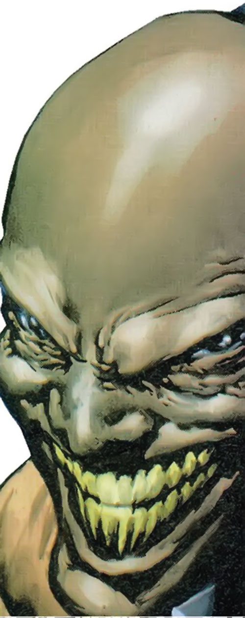 Achebe (Black Panther enemy) (Marvel Comics) face closeup