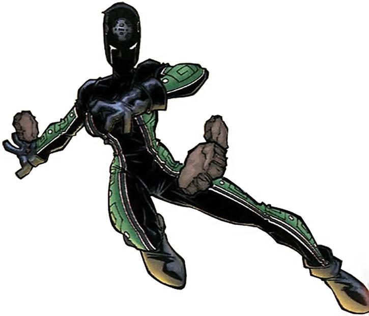 Mexican DC Comics heroine Acrata