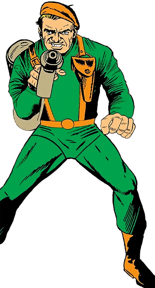 The Acrobat (Human Torch enemy) (Marvel Comics)