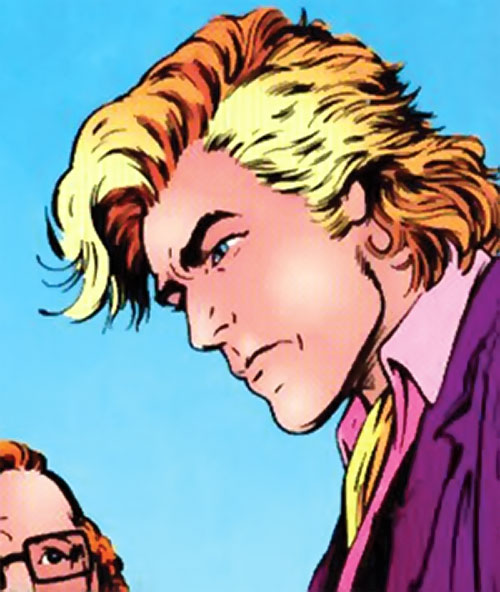 Adam Destine of Clan Destine (Marvel Comics) face closeup