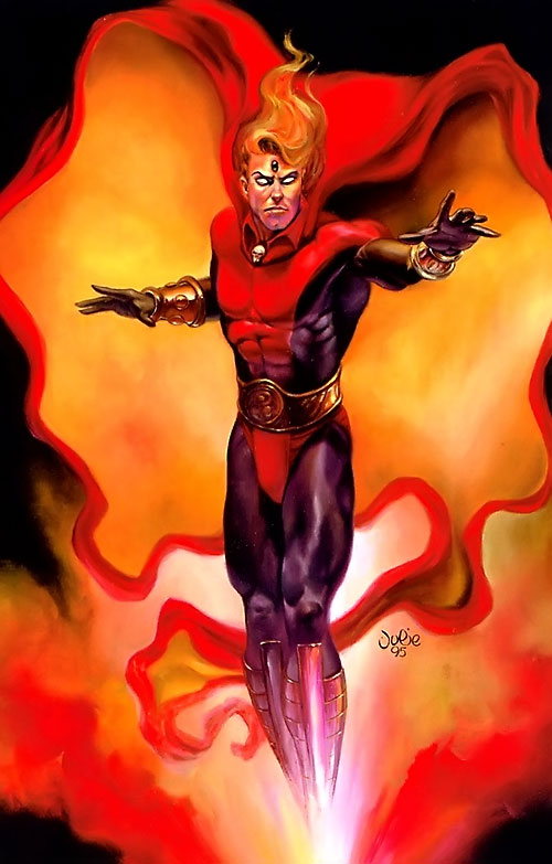 Adam Warlock (Marvel Comics) by Julie