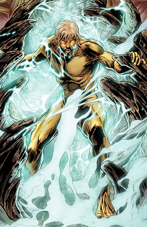 Adam Warlock (Marvel Comics) emerges from a cocoon