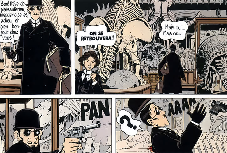Adele Blanc-Sec - French comics - Tardi - Pulp fiction