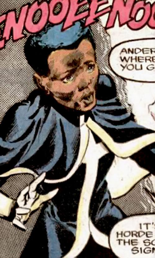Adept of the Strikeforce Morituri (Marvel Comics) is surprised