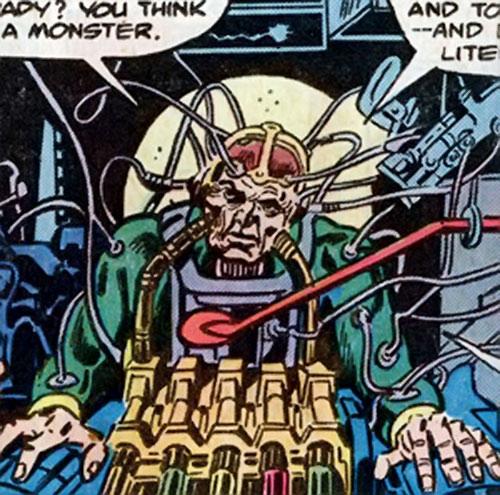 Adonis (Marvel Comics) (Captain America enemy) before his accident