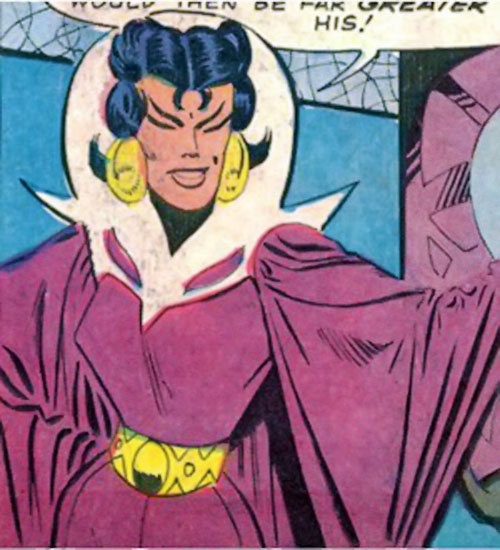Adria the Witch (Doctor Strange enemy) (Marvel Comics) by Ditko