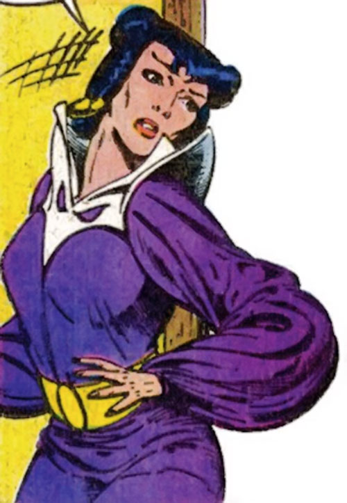 Adria the Witch (Doctor Strange enemy) (Marvel Comics) surprised