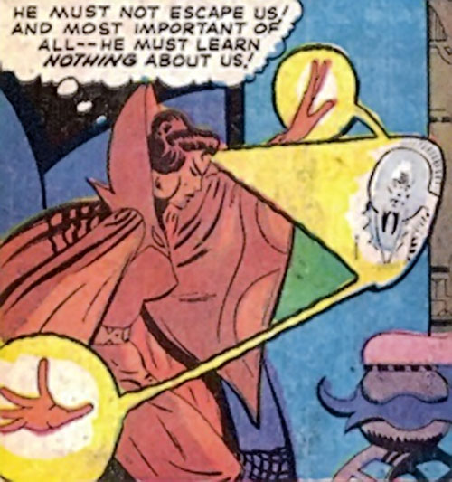 Adria the Witch (Doctor Strange enemy) (Marvel Comics) scrying