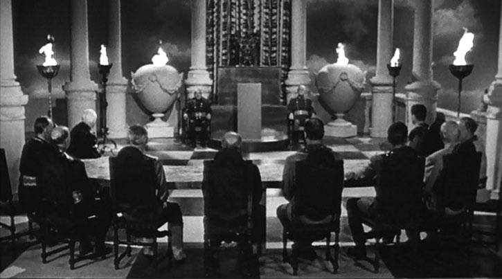 The Krypton Council assembled