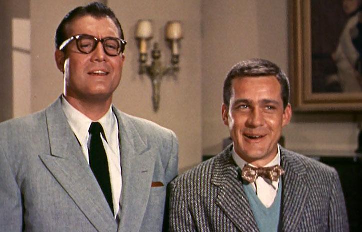 Clark Kent and Jimmy Olsen
