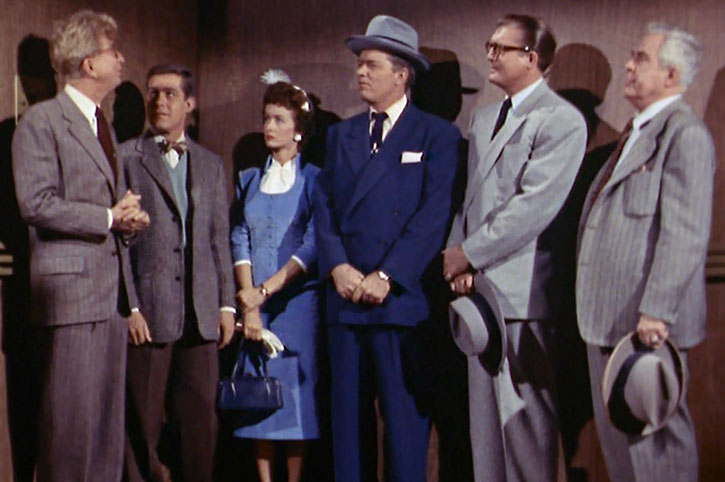 Clark Kent and other Daily Planet employees