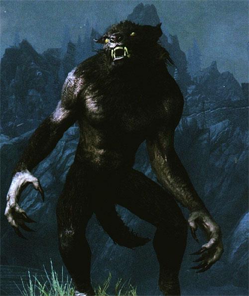Werewolf in Skyrim