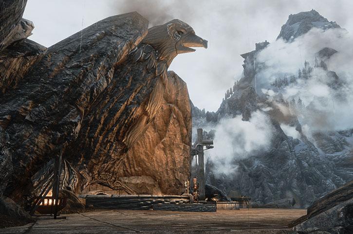 The Skyforge in Whiterun, Skyrim