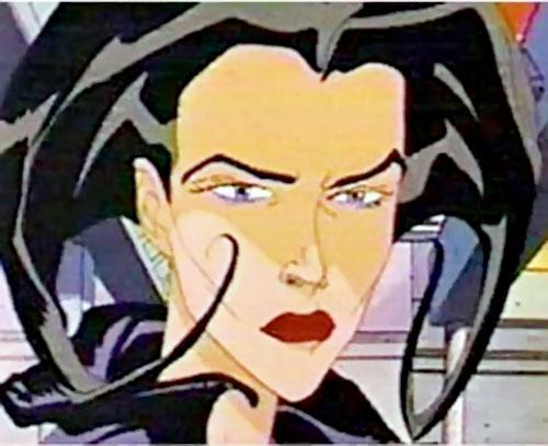Aeon Flux (MTV animated) face closeup