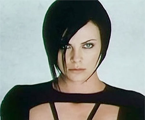 Aeon Flux (Charlize Theron) portrait