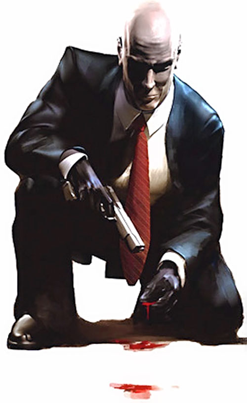 agent 47 - mister 47 - hitman video game