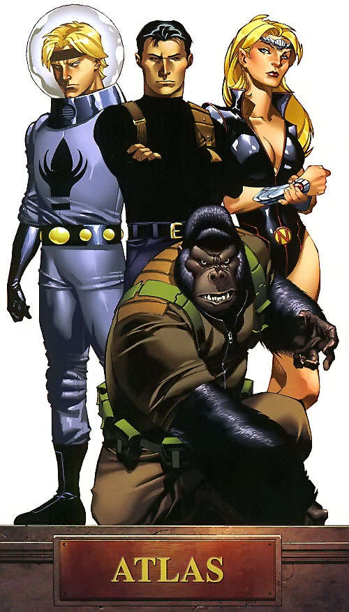 Agents of Atlas (Marvel Comics) team