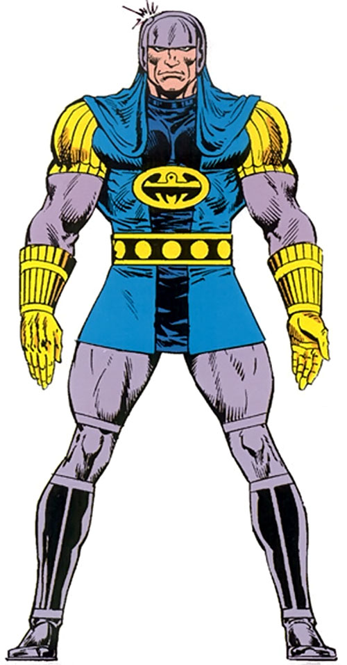 Aginar of the Earth Eternals (Marvel Comics)