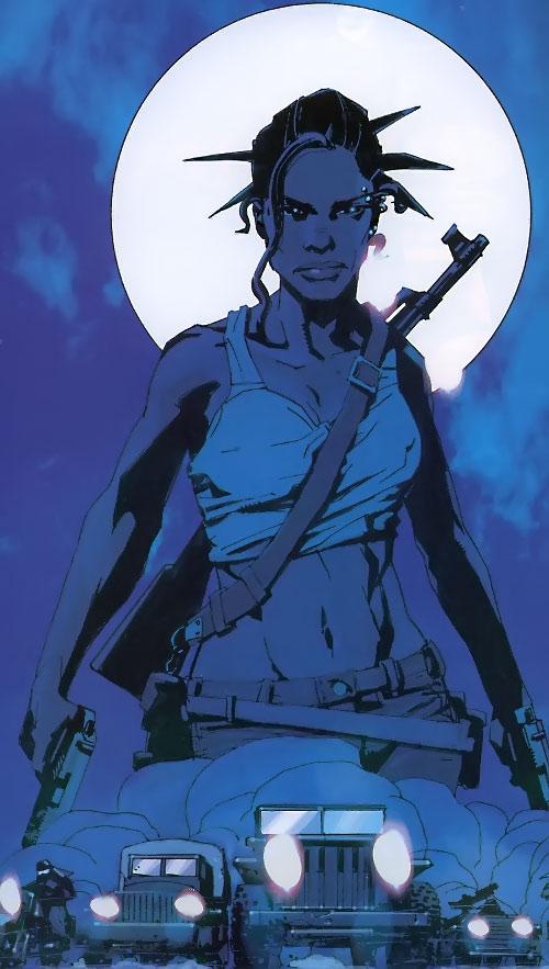 Aisha of the Losers (DC Comics)