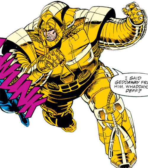 Ajax of the Pantheon (Marvel Comics)