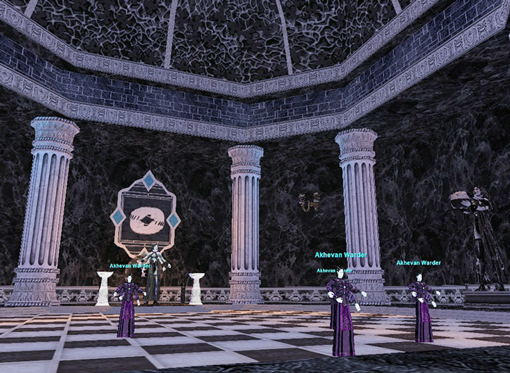 Everquest I - the Akheva city of Vex Thal
