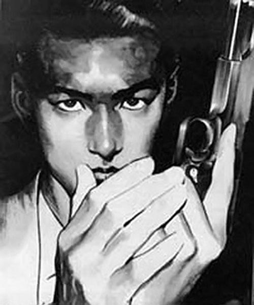 Akira Hojo from the manga Sanctuary