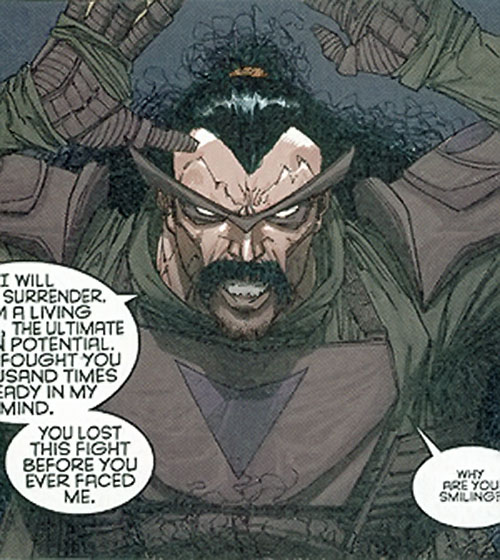 Al Afghani (Stormwatch Team Achilles enemy) (Wildstorm Comics)