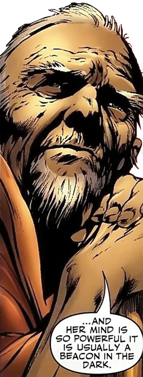 Albert Destine of Clan Destine (Marvel Comics) face closeup