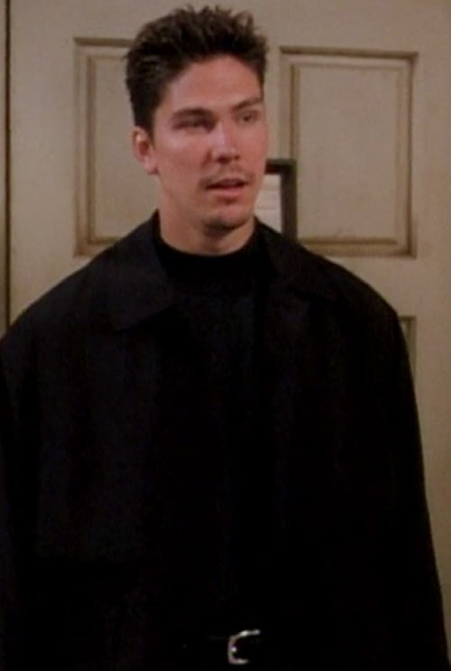 Alec the Darklighter (Michael Trucco in Charmed) dressed in black