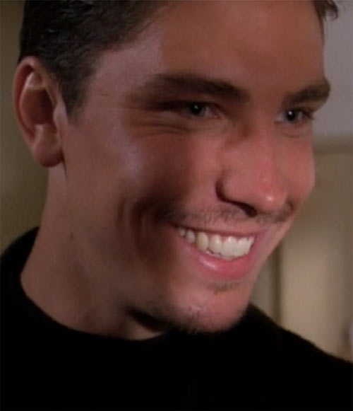 Alec the Darklighter (Michael Trucco in Charmed) grinning
