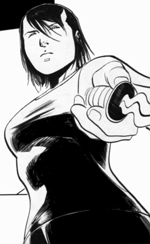 Trese Comics - Alexandra pointing her sinag