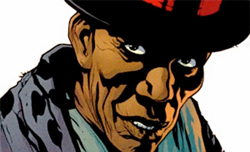 Ali Ka-Zoom of the Newsboy Army (7 Soldiers) (DC Comics) face closeup