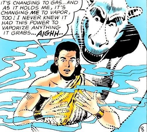 Gas Monster vs. Monster Master (Legion of Super-Heroes) (DC Comics)