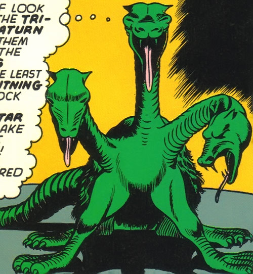 Saturnian tri-hydra (Legion of Super-Heroes) (DC Comics)