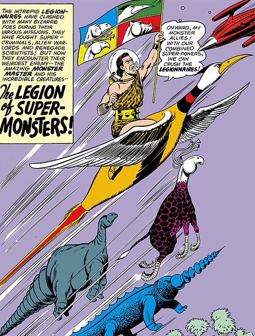 Legion of Super-Monsters and Monster Master (Legion of Super-Heroes) (DC Comics)