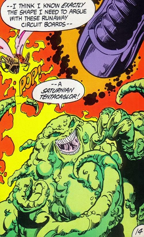Saturnian tentacaglor (Legion of Super-Heroes) (DC Comics)