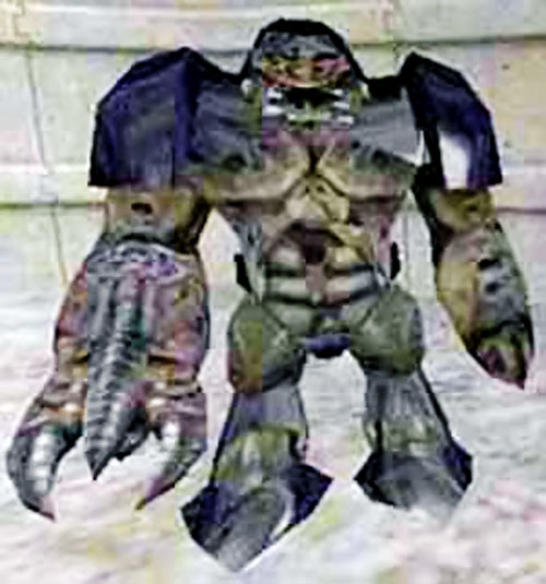Alien grunt from Xen in Half-Life