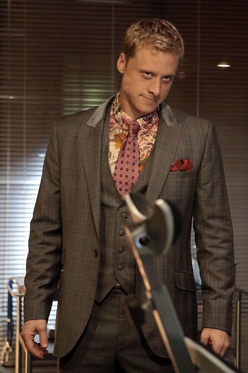 Alpha (Alan Tudyk in Dollhouse) grey suit