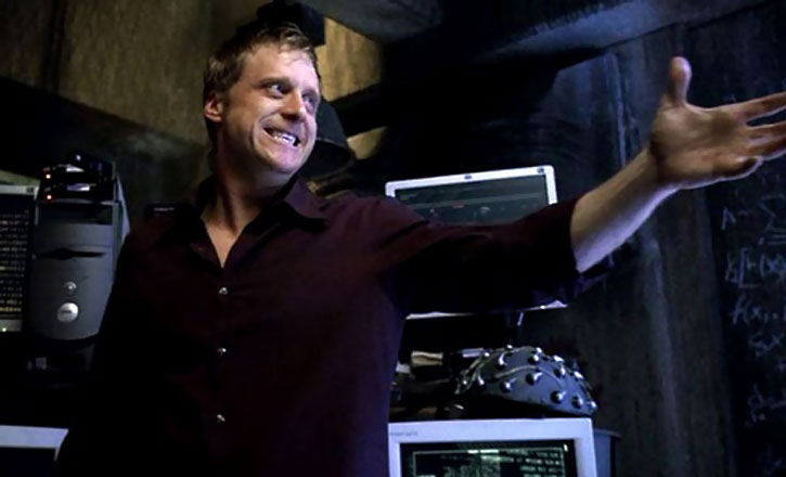 Alpha (Alan Tudyk) in a lab