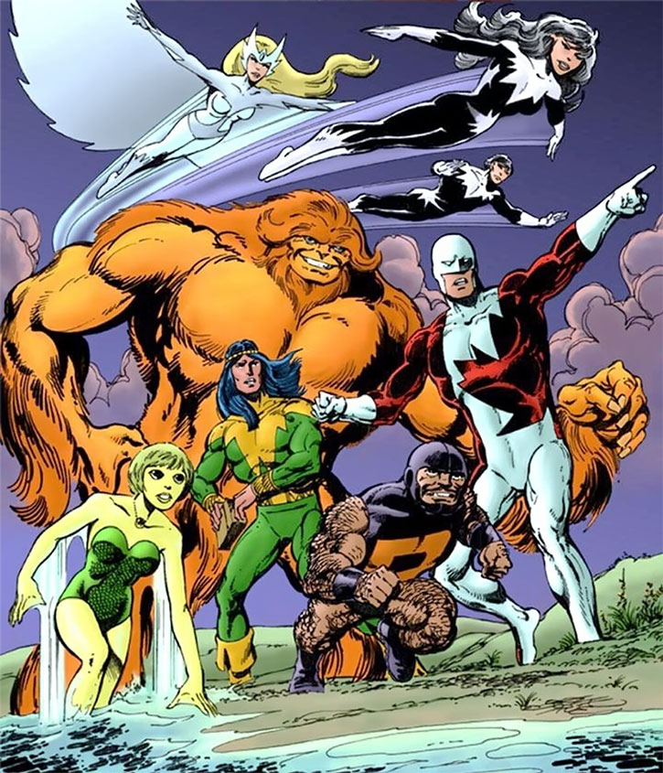 Alpha Flight early cover