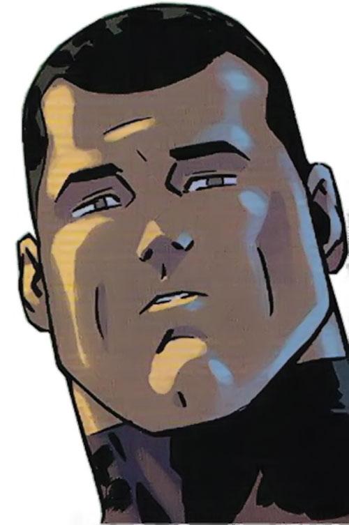 Alpha-One the Mighty (DC Comics) face closeup