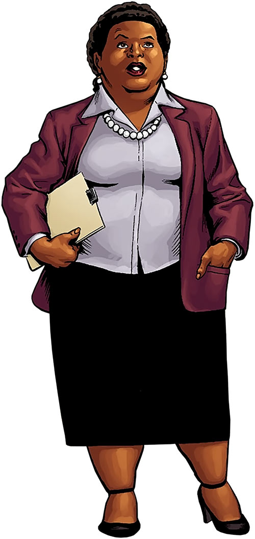 Amanda Waller of the Suicide Squad (DC Comics)